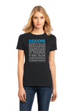 Ladies Black Magic Tavern Usidore T-shirt