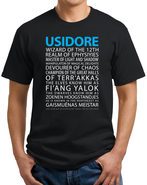 Unisex Black Magic Tavern Usidore T-shirt