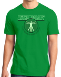 Standard Green College Major Anthropology - Starving Academic Humor Anthro Joke T-shirt