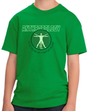 Youth Green College Major Anthropology - Starving Academic Humor Anthro Joke T-shirt