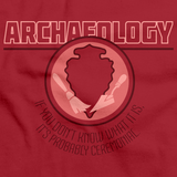 College Major Archaeology Red Art Preview