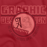 College Major Graphic Design Red Art Preview
