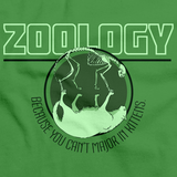 College Major Zoology Green Art Preview
