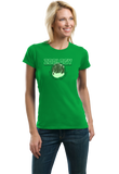 Ladies Green College Major Zoology - Animal Lover Student Zoologist Funny T-shirt