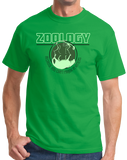 Standard Green College Major Zoology - Animal Lover Student Zoologist Funny T-shirt