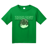 Youth Green College Major Zoology - Animal Lover Student Zoologist Funny T-shirt