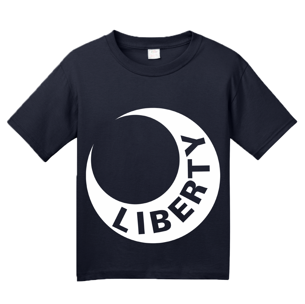Youth Navy Moultrie Flag - American Revolution History Virginia Liberty T-shirt