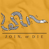 Join or Die Gold art preview
