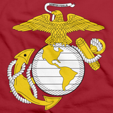 USMC Marine Corps Insignia Red art preview