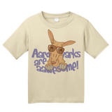 Youth Natural Aardvarks Are Aawesome! - Cheesy Pun Wordsmith Funny Joke Animal T-shirt