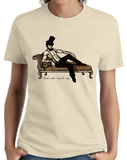 Ladies Natural Babe'Raham Lincoln T - Sexy Abe Lincoln Funny History Joke T-shirt