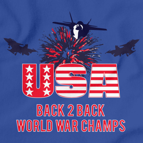 America: Back 2 Back World War Champs Royal Blue art preview