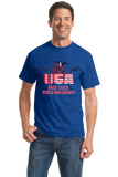 Standard Royal America: Back 2 Back World War Champs - US History Pride Funny T-shirt