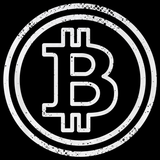 Bitcoin Logo   Black Art Preview