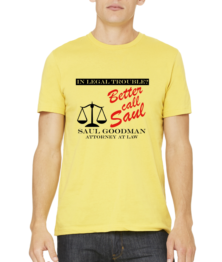 Standard Yellow BETTER CALL SAUL! T-shirt