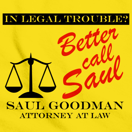 BETTER CALL SAUL! Yellow art preview