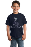 Youth Navy Star Sign: Capricorn - Astrology Astrological Sign Sea Goat T-shirt