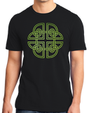 Unisex Black Traditional Celtic Knot - Irish Galeic Heritage Pride Icon
