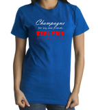 Standard Royal Champagne For My Real Friends - Bad Pun Humor Party Joke T-shirt