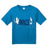 Youth Aqua Blue Dance, Shark, DANCE! T-shirt