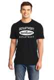 Standard Black Department Of Redundancy Dept. - Funny Sarcastic One-Liner Humor T-shirt