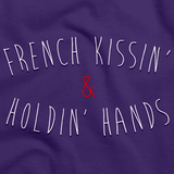 French Kissing and Holding Hands Purple art preview