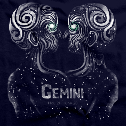 GEMINI ASTROLOGY Navy art preview
