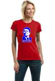 Ladies Red Gipper - Ronald Reagan Republican Conservative Icon Cold War T-shirt
