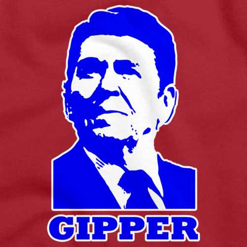 "RONALD REGAN ""GIPPER"" Red art preview"