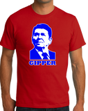 Standard Red Gipper - Ronald Reagan Republican Conservative Icon Cold War T-shirt