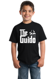 Youth Black THE GUIDO T-shirt