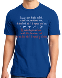 Standard Royal Heaven Is (Funny European Stereotype Humor) T-shirt
