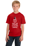 Youth Red Keep Calm And Keep The Change, Ya Filthy Animal - Home Alone T-shirt