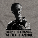 KEEP THE CHANGE, YA FILTHY ANIMAL Grey art preview