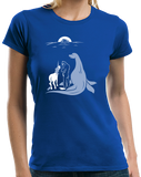 Ladies Royal Noah Forgot Bigfoot, Unicorn, And Loch Ness Monster :( T-shirt