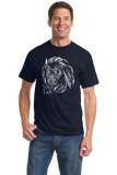 Standard Navy Star Sign: Leo - Horoscope Astrology Astrological Sign Lion T-shirt