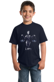 Youth Navy Star Sign: Libra - Horoscope Astrology Astrological Sign Scales T-shirt