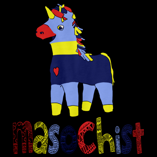 MASOCHIST (PINATA) Black art preview
