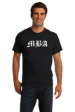 Unisex Black MBA: Mister Bad Ass - Business School Humor Joke Funny Gift