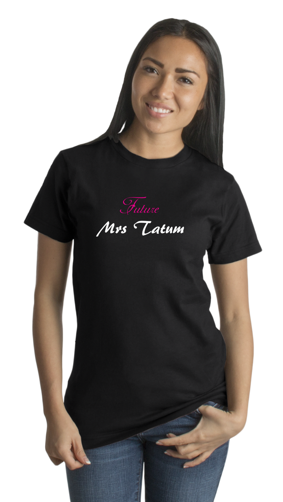 Standard Black FUTURE MRS. TATUM T-shirt