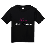 Youth Black FUTURE MRS. TATUM T-shirt