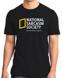 Standard Black National Sarcasm Society T-shirt