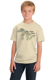 Youth Natural North Coast - Great Lakes Pride Lake Superior Huron Michigan T-shirt