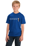 Youth Royal Don't Sweat Petty Stuff Don't Pet Sweaty Stuff - Funny Optimist T-shirt