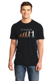 Standard Black Quit Following Me! - Science, Evolution Humor T-shirt