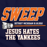 TIGERS SWEEP YANKEES ALCS 2012! Navy art preview