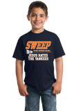 Youth Navy TIGERS SWEEP YANKEES ALCS 2012! T-shirt