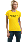 Ladies Yellow Waffle Casa - Waffle House Lover Parody Espanol Grits Funny T-shirt