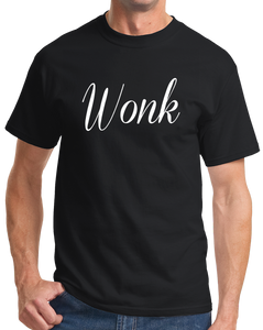 Standard Black Wonk - Political Humor Republican Democrat Page Staffer The Hill T-shirt