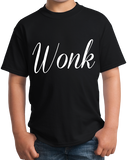 Youth Black Wonk - Political Humor Republican Democrat Page Staffer The Hill T-shirt
